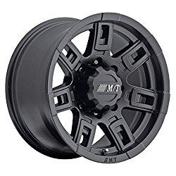 Mickey Thompson Sidebiter II Wheel with Satin Black Finish (17×9″/5×5.5″) 0 millimeters offset
