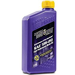Royal Purple 06520-6PK API-Licensed SAE 5W-20 High Performance Synthetic Motor Oil – 1 qt. (Case of 6)