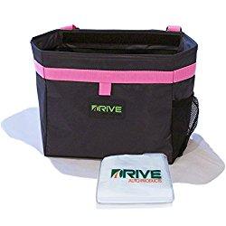 The DRIVE Bin Car Garbage Can, Pink