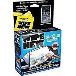 Wipe New HDL6PCMTRRT Headlight Restore Kit – 6 Pack