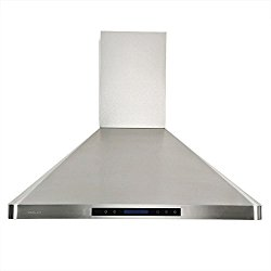 CAVALIERE 36″ Wall Mounted Stainless Steel Kitchen Range Hood w/Remote Control 900 CFM AP238-PS31-36