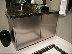 Con-Tact Metallic NO. Faux Stainless Peel and Stick Removable  36″ X 72″