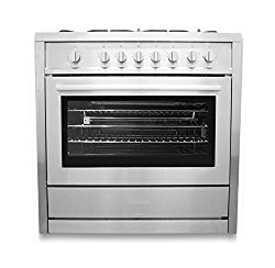 Cosmo 36″ Freestanding/Slide-In Gas Range (Cos-965Ag)