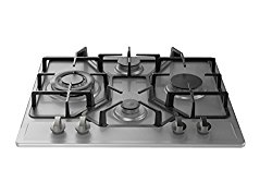 Empava HQ4B67A Stainless Steel Built-in 4 Burners Stove Gas Hob Fixed Cooktop