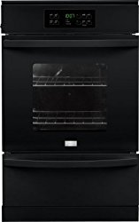 Frigidaire FFGW2425QB 24″ 3.3 cu. Ft. Capacity Gas Single Wall Oven with 2 Oven Racks, ADA Compliant, in Black