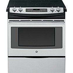 GE JS750SFSS 30″ Stainless Steel Electric Slide-In Smoothtop Range – Convection