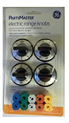 GE Partsmaster Electric Range Knob Set