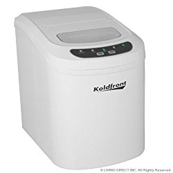 Koldfront Ultra Compact Portable Ice Maker – White