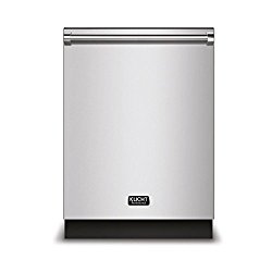 Kucht K6502D 24″ Top Control Dishwasher in Stainless Steel with Stainless Steel Tub and Multiple Filter