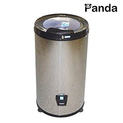 Panda High End Stainless Steel Portable Spin Dryer Apartment Size 110V 22lbs Large Capacity, 3200 rpm. Stainless Steel Drum