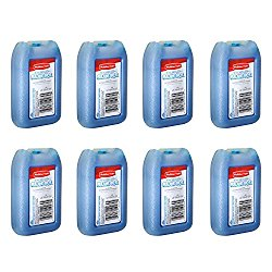 "RUBBERMAID – 1026-TL-220 ""BLUE ICE"" MINI PAK 8 OZ, Reusable, Non-toxic, 8 PK"