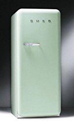 Smeg FAB28UVR 9.22 cu. ft. 50's Style Refrigerator – Pastel Green, Right Hinge