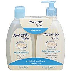 Aveeno Baby Daily Care Set, 2 Items