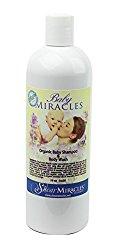 Baby Miracles Organic Baby Shampoo & Body Wash – No Harsh Chemicals – Vegan, Gluten Free, GMO Free, No Animal Testing.