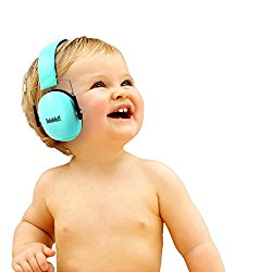 BEBE Muff Hearing Protection – BEST USA Certified Noise Reduction Ear Muffs, Mint, 3 months+