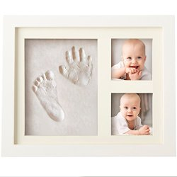 Charming Baby Handprint and Footprint Frame Package
