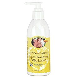 Earth Mama Angel Baby Natural Non-Scents Baby Lotion – Fragrance Free – 8 oz