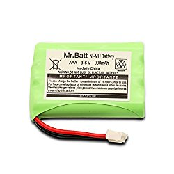 Mr.Batt 900mAh Replacement Battery for Motorola MBP27T, MBP33, MBP33S, MBP33PU, MBP36, MBP36S, MBP36PU Baby Monitors