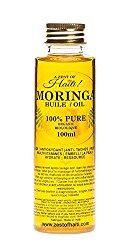Nourishing Moringa Golden Oil- Facial Day & Night Treatment Serum Skin Beauty Repair- 100% Organic-healing Phenomenon- 3.38 Ounces