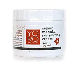 Organic Manuka Honey Cream for Eczema