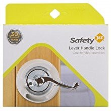 Safety First Child Safety Lever Handle Lock – Pack of 2