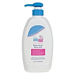 Sebamed Extra Soft Baby Wash with Pump, 13.5 fl oz/400ml