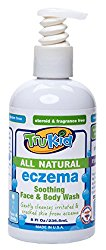 TruKid Eczema Soothing Face and Body Wash, Unscented, 8 Ounce