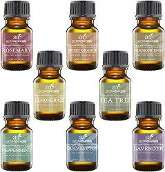Art Naturals Top 8 Essential Oils – 100% Pure Of The Highest Quality Essential Oils
