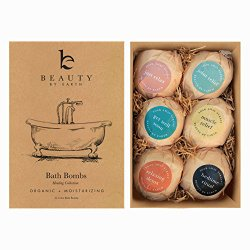 Bath Bomb Gift Set – USA Made with Organic & Natural Ingredients