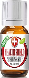Best Health Shield (Compare to Thieves Oil by Young Living, Four Thieves by Eden's Garden) 100% Pure, Therapeutic Grade Essential Oil Blend – 10ml