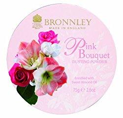 Bronnley Pink Bouquet 75g/2.6oz Dusting Powder