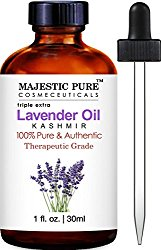 Lavender Kashmir Essential Oil from Majestic Pure, 100% Pure and Authentic, 1 fl. Oz