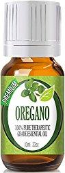 Oregano – 100% Pure, Best Therapeutic Grade Essential Oil – 10ml