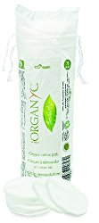 Organyc Certified Organic Cotton Rounds for Baby Care To Makeup Care and An Essential for Any Household, 70 Count