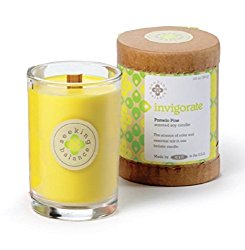 Root Scented Seeking Balance Invigorate Candle, Pomelo Pine