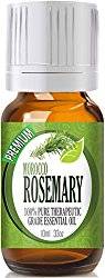 Rosemary – (Premium Morocco) 100% Pure, Best Therapeutic Grade Essent…