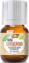 Sandalwood (Nepal) Best Therapeutic Grade Essential Oil – 5ml