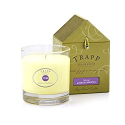 Trapp Signature Home Collection No. 60 Jasmine Gardenia Poured Candle, 7-Ounce