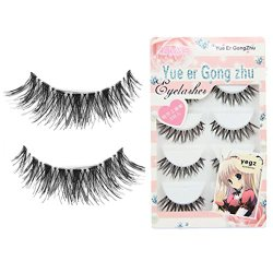 Voberry® Women Gril Lady Big Sale! 5 Pair/lot Crisscross False Eyelashes Lashes Voluminous HOT Eye Lashes