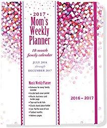 2017 Lollipop Tree Mom's Weekly Planner (18-Month Family Calendar)