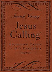 Jesus Calling – Deluxe Edition Brown Cover: Enjoying Peace in His Presence