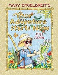 Mary Engelbreit 2017 Weekly Planner Calendar: Your Adventure Starts Now