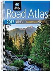 Rand McNally 2017 Large Scale Road Atlas (Rand Mcnally Large Scale Road Atlas USA)