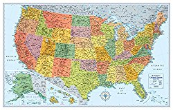 Rand McNally Signature Map of the United States