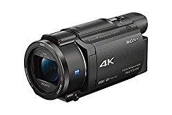 Sony FDRAX53/B 4K HD Video Recording Camcorder (Black)