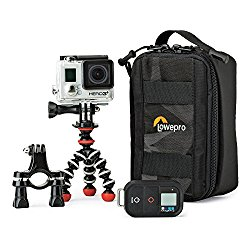 ViewPoint CS 40 From Lowepro – Carry and Protect 1 GoPro or Other Action Video Camera Plus The Mounts You Need For The Day