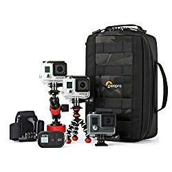 ViewPoint CS 80 From Lowepro – 3 GoPro or Other Action Video Cameras, All The Gear and Mounts You Need,One Protective Case