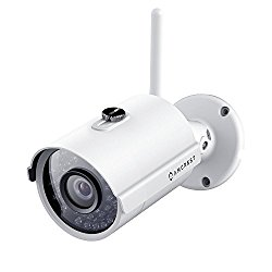 Amcrest ProHD Outdoor 1080P WiFi Wireless IP Security Bullet Camera – IP66 Weatherproof, 1080P (1920TVL), IP2M-842 (White)