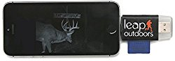 Leap Outdoors Trail or Game Camera Viewer SD Card Reader for Apple iPhone or iPad | Works with Cases | Reads SD, SDHC, and Micro SD Cards