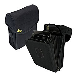 Lee Filters Field Pouch for Ten 100 x 150mm Filters, Black